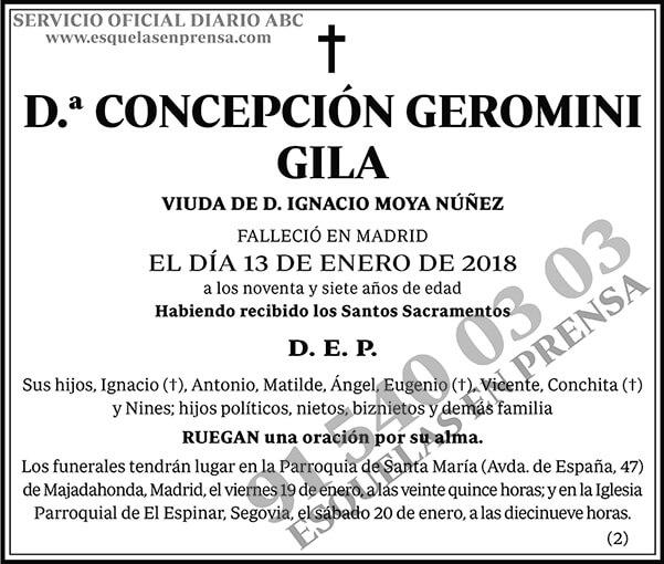 Concepción Geromini Gila